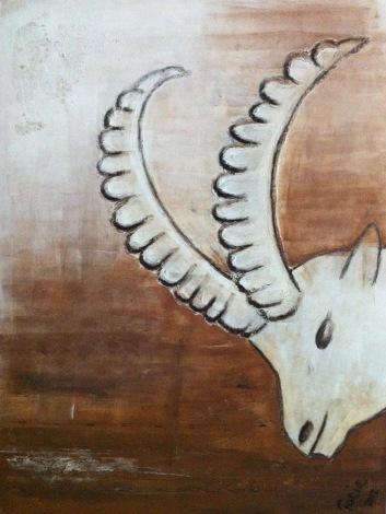 Caprigione, 60 x 80 cm, verkauft